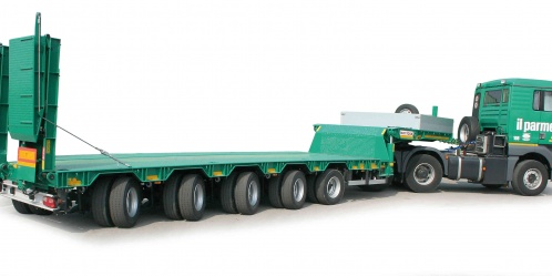 Semitrailers Bertoja Heavy Semitrailer Up To 10 Axles